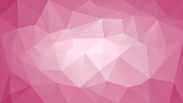 Abstrakter horizontaler dreieckhintergrund der steigung. weiniger, roter, weinfarbener polygonaler hintergrund für die geschäftspräsentation. trendiges geometrisches abstraktes banner. flyer zum technologiekonzept. mosaik-stil.