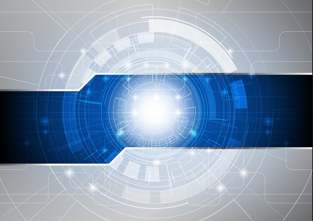 Abstrakter innovationstechnologie-hintergrund