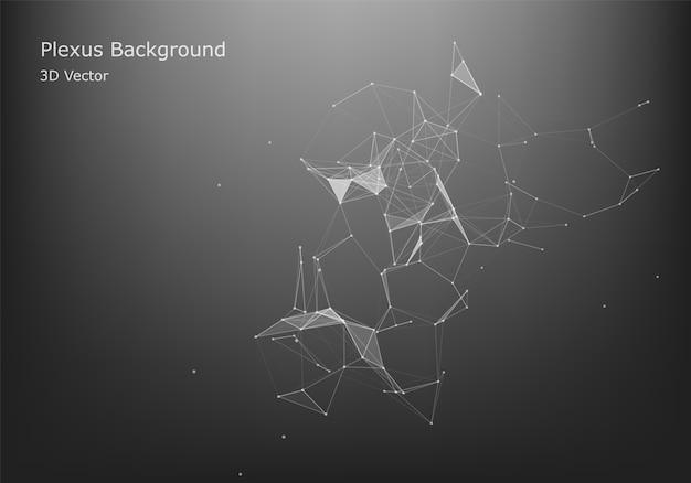 Abstrakter internetanschluss und technologiegrafikdesign. abstrakter internetanschluss und technologiegrafikdesign.