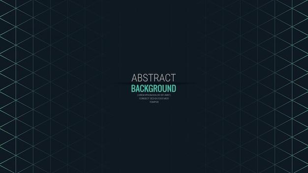 Abstrakter isometrischer form-hintergrund