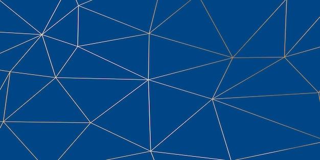 Abstrakter klassischer blauer luxushintergrund. pantone-farbe 2020 vektor-illustration