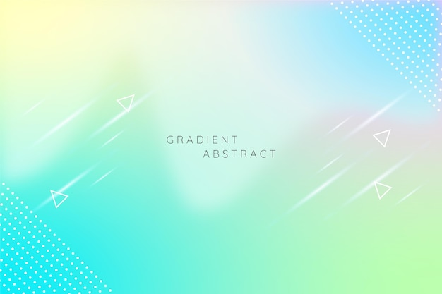 Abstrakter kreativer hintergrund mit farbverlauf