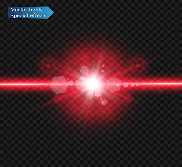 Abstrakter laserstrahl