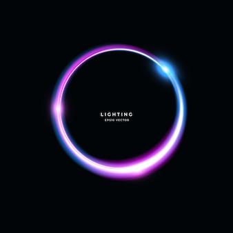 Abstrakter lichteffekt