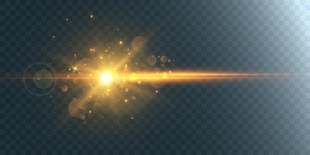Abstrakter lichteffekt.