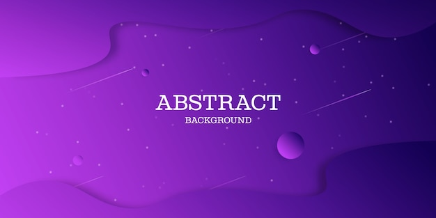 Abstrakter lila gradientenhintergrundentwurf