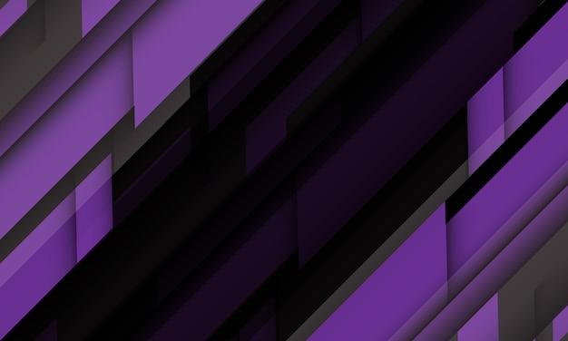 Abstrakter lila grauer geometrischer schwarzer futuristischer entwurf moderner technologiehintergrund.