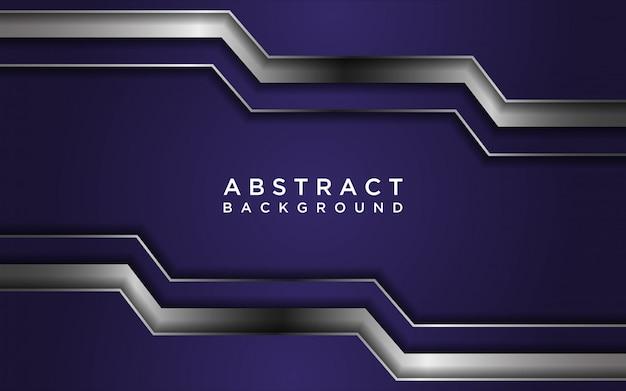Abstrakter lila hintergrund mit überlappungsebenen und linientextur