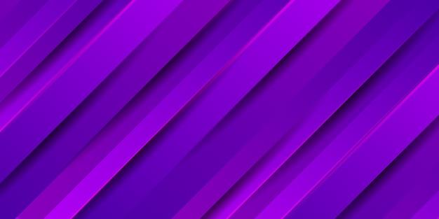 Abstrakter lila streifenhintergrund mit glatter moderner textur