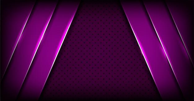 Abstrakter luxuriöser dunkler purpurroter überlappungsschichthintergrund
