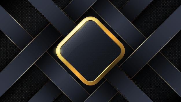 Abstrakter luxushintergrund in form eines quadrats.