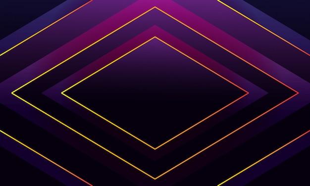 Abstrakter luxushintergrund mit glänzenden goldlinien