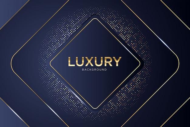Abstrakter luxushintergrund mit glühen