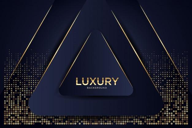 Abstrakter luxushintergrund mit glühhalbtonmuster.