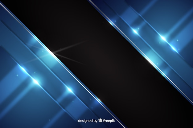 Abstrakter metallischer dunkelblauer hintergrund