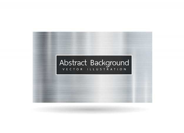 Abstrakter metallischer rahmen auf weißem hintergrund. designtechnologie trägt innovationskonzepthintergrund zur schau.