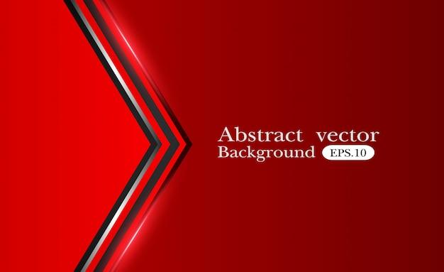Abstrakter metallischer roter schwarzer hintergrund