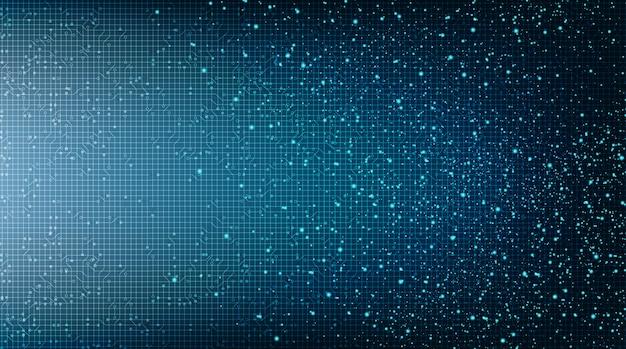 Abstrakter mikrochip-technologie-hintergrund der elektronischen schaltung