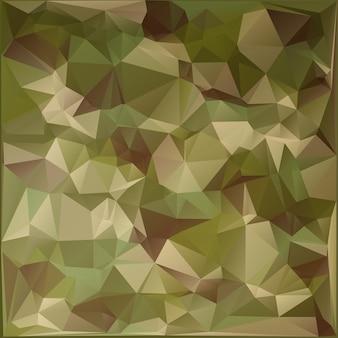 Abstrakter militärischer tarnhintergrund aus geometrischen dreiecksformen. polygonaler stil.