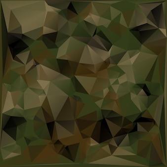 Abstrakter militärischer tarnung-hintergrund der geometrischen dreiecks-formen. polygonaler stil.