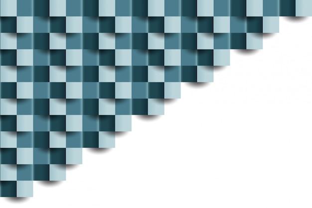 Abstrakter mit ziegeln gedeckter geometrischer beschaffenheitshintergrund