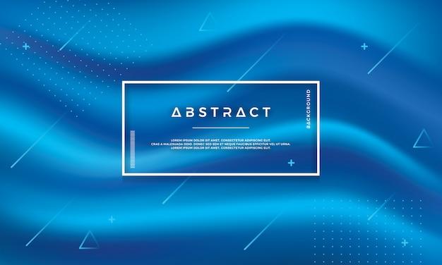 Abstrakter moderner bluel vektorhintergrund