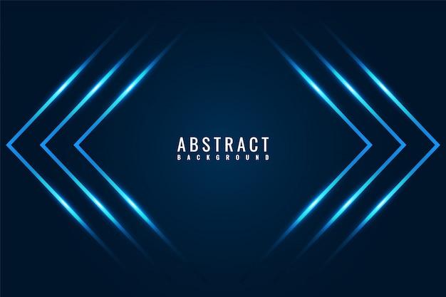 Abstrakter moderner dunkelblauer glänzender spielehintergrund mit diagonalen linien.