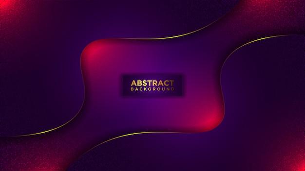 Abstrakter moderner dunkler luxushintergrund. mit überlappung geschichtetes modernes glitzermuster.