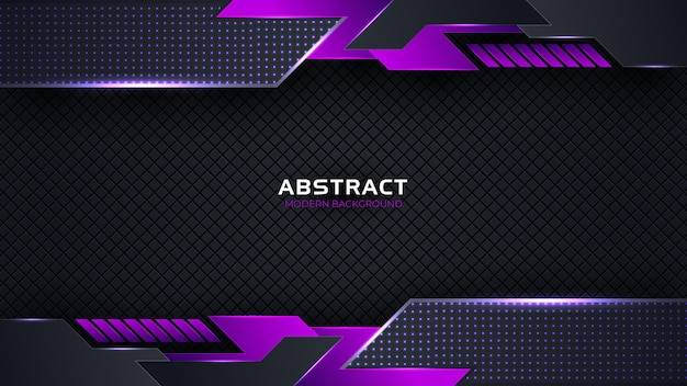 Abstrakter moderner formmetallhintergrund