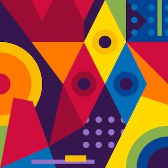 Abstrakter moderner geometrischer hintergrund