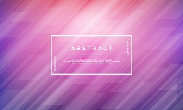 Abstrakter moderner geometrischer purpurroter vektorhintergrund.
