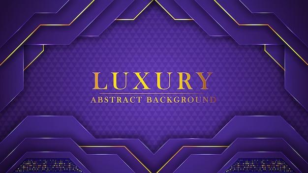 Abstrakter moderner goldener luxushintergrund und geometrische formen