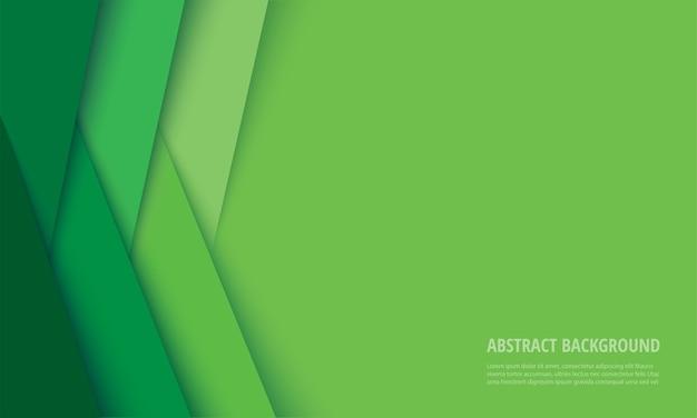 Abstrakter moderner grüner linienhintergrund