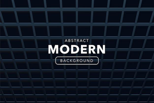 Abstrakter moderner hintergrund mit formen 3d