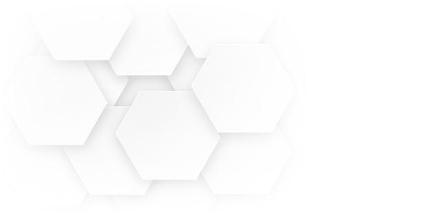 Abstrakter moderner hintergrund mit hexagon- oder bienenstockelement und weichem farbverlauf