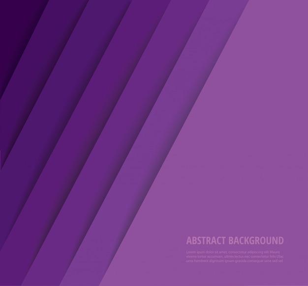 Abstrakter moderner lila linienhintergrund