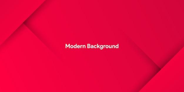 Abstrakter moderner roter papierhintergrund