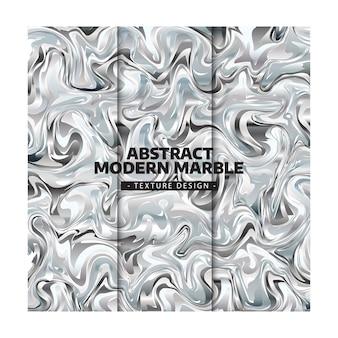 Abstrakter moderner silberner marmorbeschaffenheits-entwurf