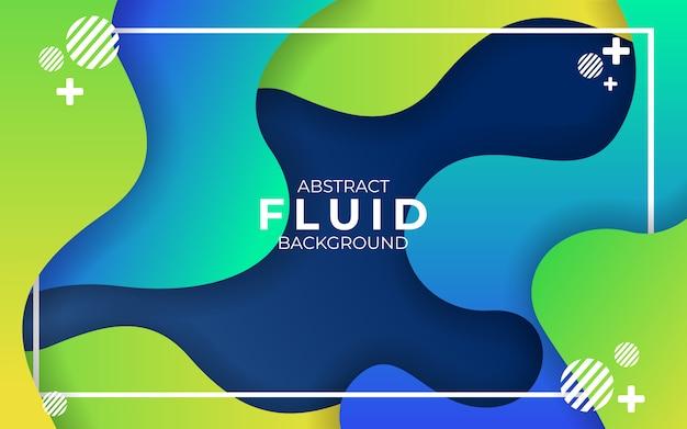Abstrakter moderner wellenförmiger flüssiger und flüssiger hintergrund