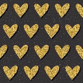 Abstrakter nahtloser hintergrund. goldglitter textur. muster für weihnachtskarte, weihnachtseinladung, hochzeitsalbum, sammelalbum, weihnachtspapier, textil, t-shirt, taschendruck, tapete usw.