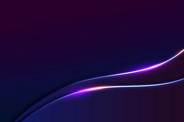 Abstrakter neonhintergrund, desktop-hintergrundvektor