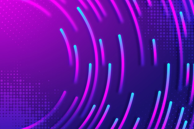 Abstrakter neonhintergrund