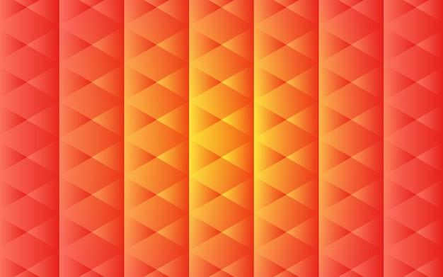 Abstrakter orange geometrischer formenhintergrund