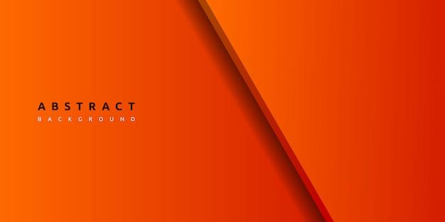 Abstrakter orange geometrischer oberflächenhintergrund 3d