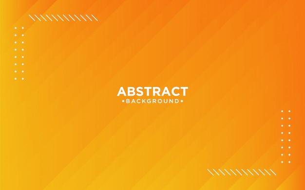 Abstrakter orange gestreifter hintergrund 3d