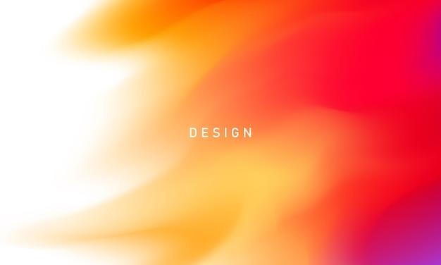 Abstrakter orange gradientenhintergrund ökologiekonzept