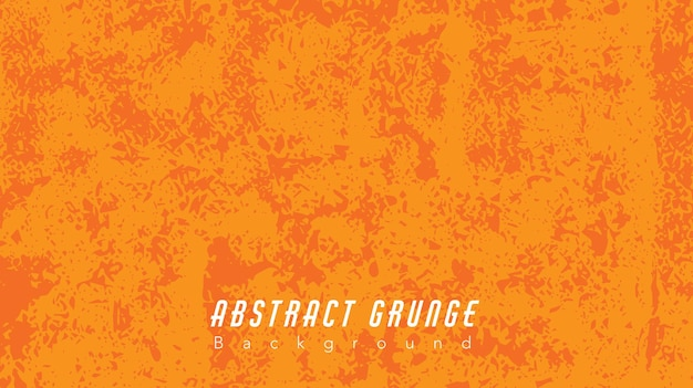 Abstrakter orange grunge