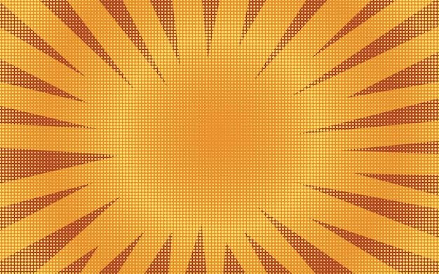 Abstrakter orange halbtonhintergrund