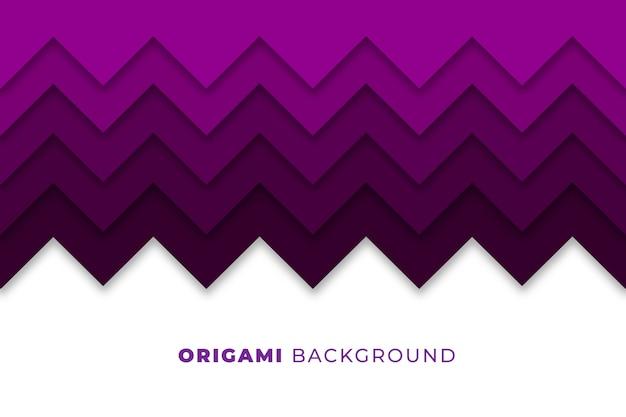 Abstrakter origami hintergrund