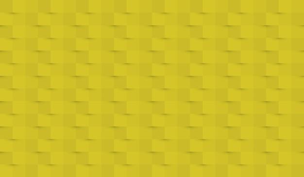 Abstrakter papierhintergrund mit und schatten in den gelben farben